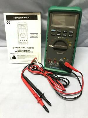Greenlee Digitalanalog True Rms Multimeter 1000v With Manual Many Functions