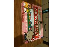 Monopoly Hello kitty collectors edition used once