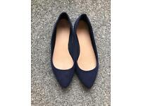 Blue New Look Pumps UK Size 6