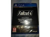 Fallout 4 Unopened Rare Limited Steelbook Edition *IDEAL PRESENT*