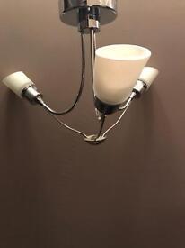 Ceiling light fitting - 3 way light