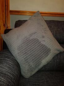 Grey cushions large x6
