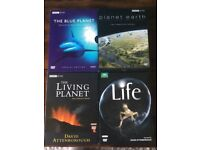 David Attenborough dvd collection