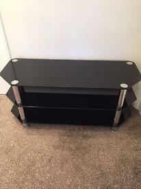 Black Glass Television Table £25 ONO