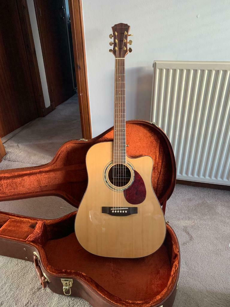 Freshman Apollo 3 DC Electro Acoustic Guitar | in Livingston, West Lothian  | Gumtree