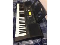 Yamaha psr e343 electric keyboard