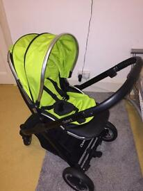 Oyster Style 2 Stroller and Carrycot - delivery post available