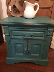 Solid wood Cabinet, painted and waxed