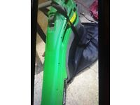 Leaf vacuum/blower