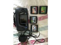 90s Sega game gear hand held with games