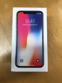 IPHONE X, 256GB, SPACE GREY BOXED UP **APPLE RRP £1,149.00**