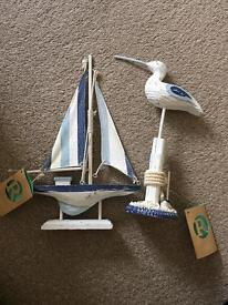 Bathroom ornaments nautical theme