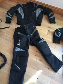 2 sets of motorbike suits