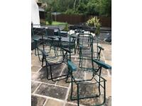 **7** outdoor chair frames