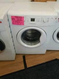 BEKO 8KG LOAD 1200 SPIN WASHING MACHINE IN WHITE