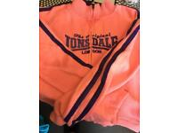 Age 11-12 Lonsdale zip up jacket pink