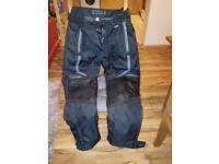 Motorbike trousers size 14