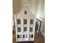 Magnificent Victorian dolls house complete with brand new furniture and carpets, wallpaper