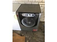 Black washing machine 8kg