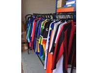 Joblot x 67 Brand New Mens Sports Tops & Jackets Nike Joma Prostar ETC. Most With Tags all sizes