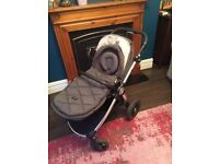 Occarro chestnut mamas and papas pram . 6 months old comes with extras. Smoke free home.