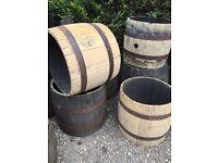 Oak barrel whisky middles