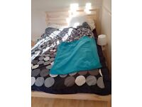ikea TARVA bed frame + HAM mattres
