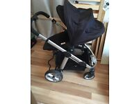 Apple To Pear iCandy pushchair with rain cover x2 and mosquito net