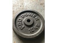Weights and gym equipment/ bars Kg