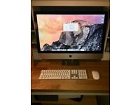 """27"""" Apple iMac - 3.2ghz Intel i5, 1TB HDD, 16gb ram, wired keyboard and wireless Magic Mouse"""