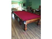 10x5ft Snooker Table