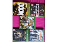 Xbox one games all Vgc boxed