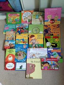 Children's books. Harry and his Dinosaurs, Peppa Pig, in the NGarden, Dora Explorer, Ben Holly Etc