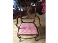Queen Anne carver/dining chair
