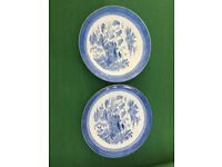 Pair of Spode Plates - Collectors Items