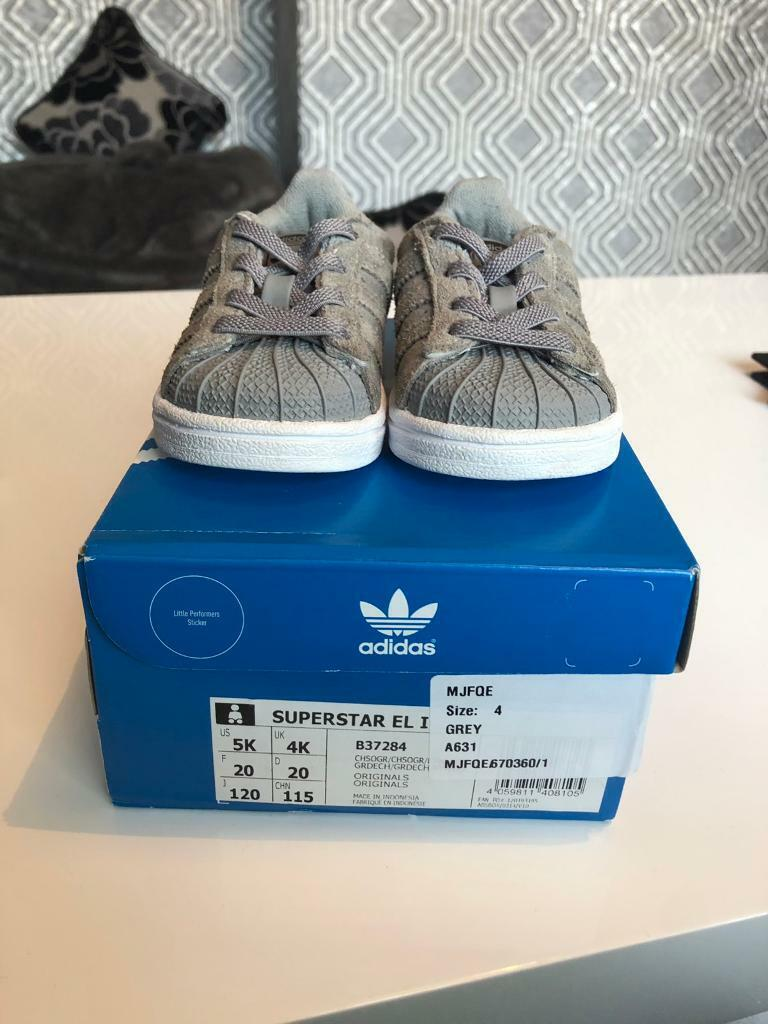 low priced a08f3 bd4c3 Infant Adidas superstars - size 4 | in Swindon, Wiltshire | Gumtree