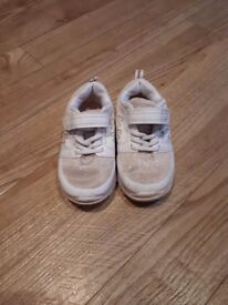 Pink Shimmer Trainers Infant Size 5