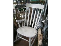 Up-cycled rocking chair