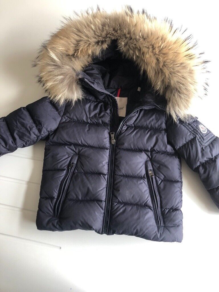 ac26eee3928a Boys genuine moncler jacket age 4