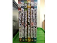 Diary of a wimpy kid books x 6