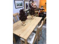 IKEA table with 4 chairs