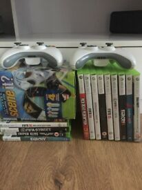 Xbox 360 and 15 games