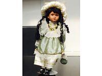 Leonardo porcelain doll