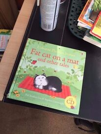 Fat cat on a mat, pull out early learn to read book without cd in excellent condition, Cardiff