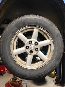 2002-2007 Jeep Liberty 4x4 | 235-65-17 Rims/All season Tires Westlake | 90%Tread On tires |
