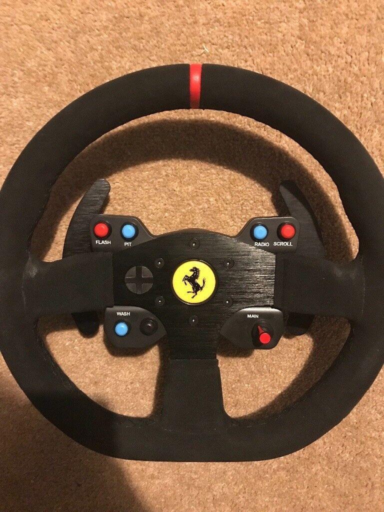 Thrustmaster Ferrari 599 GTX racing wheel