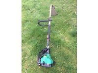 Qualcast 110pp petrol strimmer, in good used condition .