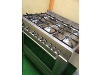 Delonghi 6 burner range cooker