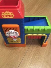 Leap frog learning town