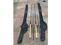Fishing rods reels